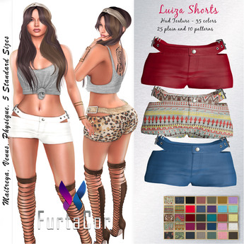 FurtaCor*Luiza Shorts::: Gift:::