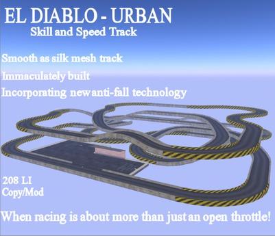 EL Diablo Speed and Skill Track - Urban