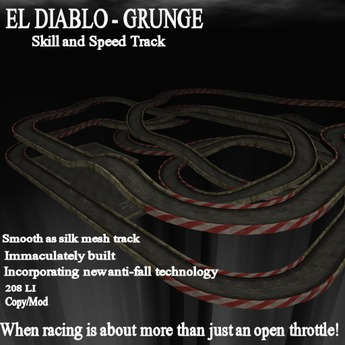 El Diablo speed and skill track - grunge
