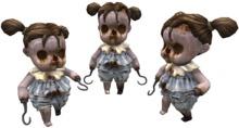 Creepy Baby Girl Doll
