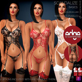 Wild Orchid Edge: Scandalous Lingerie 3 Basic Color Pack with Appliers