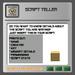 EMU Script Teller