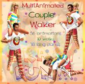 ***CrazyFun Couple Walker - 10 couple walks and 18 couple stands!!! - shoulder walk - piggyback - crawl - hand by hand