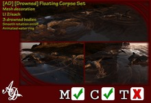 [AD] [Drowned] Floating Corpse Set