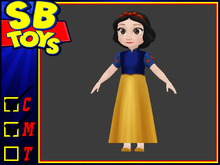 [SB TOYS] Princess Collection Doll- Snow