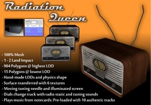 Radiation Queen Wireless Radio