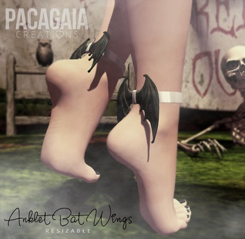 :PC: Bat Ankle Wings (wear to unpack)