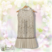 Belle Epoque { The Flapper Outfit } Beige
