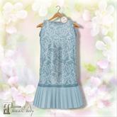 Belle Epoque { The Flapper Outfit } Blue
