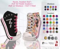 :: No Cabide :: Randa_ Sneakers Skull + Hud 30 Models UPGRADE