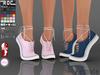 ::ROC:: Canvas Sneaker! Tiptoe