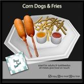 F&B Corn Dog Platter