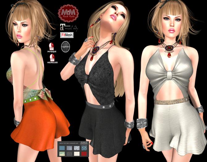 M&M-LAVENDER DRESS-O