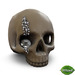 -Mint- Skull with Diamonds /Pearls