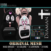 :Diamante: Luna (Original Mesh) Back Pack DEMO