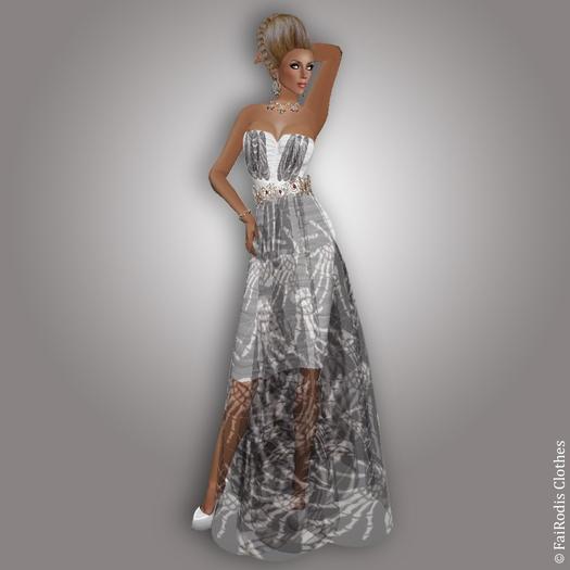 FaiRodis Halloween witch MESH+FLEXI 4 dress