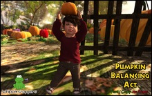 ! Whippersnappers ! - Pumpkin Balancing Act