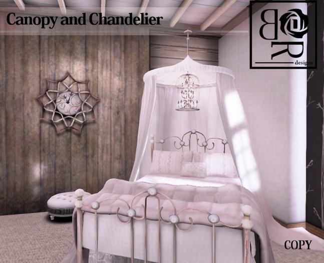 Princess Canopy/Chandelier Tent Bag