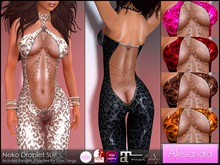 ALESSANDRA - Neko Droplet Suit (6 Colors)