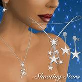 (Caroline's) Shooting Stars Necklace & Earrings