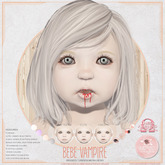 Bebe Mesh Vampire Head