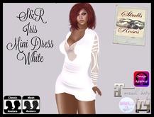 S&R Iris Minidress White
