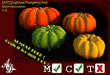 [AD] [Lighted Pumpkin] Set BOXED