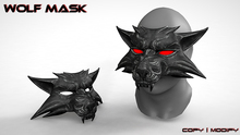 wolf mask ( witcher )