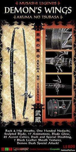 Musashi Blades - Akuma no Tsubasa V4.2