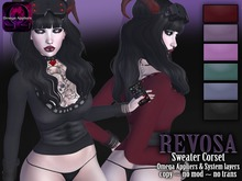 REVOSA Sweater Corset [with Omega Appliers]