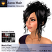 A&A Jana Hair Vampire Colors Pack. Curly womens updo (Classic Flex and Mesh+Flex)