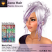 A&A Jana Hair Pastel Colors, boxed