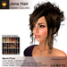 A&A Jana Hair Ombre Colors Pack. Curly womens updo (Classic Flex and Mesh+Flex)