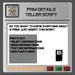 EMU Prim Details Teller
