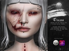 .Absence. Trauma Face Appliers [Omega/CATWA]