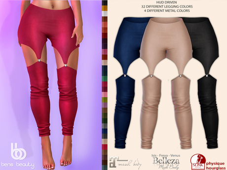 Bens Boutique - Gulce Leggings - Hud Driven