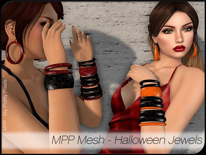 - MPP Mesh - Halloween Jewels