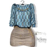 AdoreZ- Allie Dress BLUE