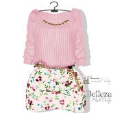 AdoreZ- Allie Dress  Pink