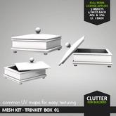 CLUTTER - Mesh Kit - Trinket Box 01