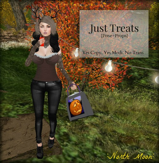 :North Moon: Just Treats {Pose+Props}
