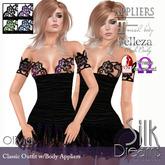Silk Dreams Olivia Minidress - Value Pack w/Mesh Body Appliers