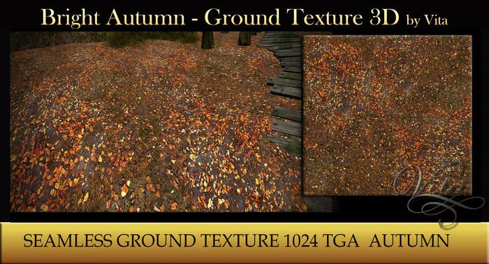 Vita's Textures - Bright Autumn 3D Seamless 2016
