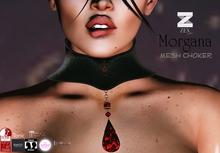 Morgana Mesh Choker / Blood