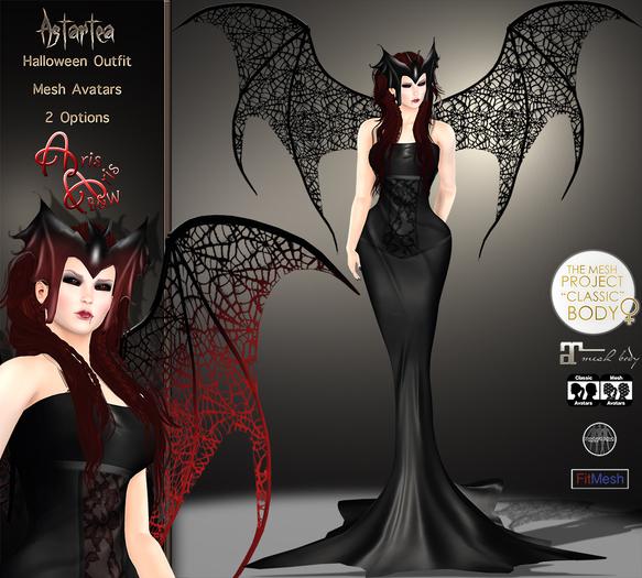 ***ArisAris/B&W~Astartea Hallowen Outfit-TMP-MAITREYA-