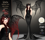 99L$ Promotion ***ArisAris/B&W~Astartea Hallowen Outfit-TMP-MAITREYA-