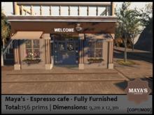 Maya's - Espresso cafe - Fully Furnished