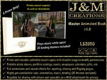 J&M Creations Master Animated Book v1.0 (print exact copies for sale or distribution)
