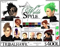 - Tribalhawk - A Wylde Style by Khyle Sion at ~Refined Wild~