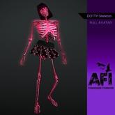 AFI Designs Dotty Skeleton Full Avatar